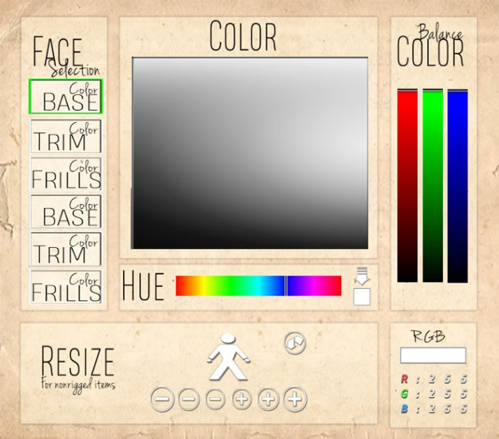Leigh Ultimate Color HUD
